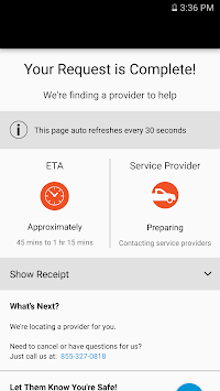 Encompass Roadside Assistance pc screenshot 1