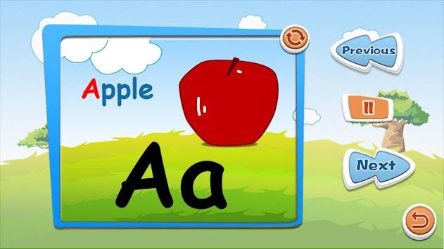 Alphabet puzzles & flash cards pc screenshot 1