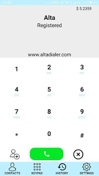 Alta dialer pc screenshot 1