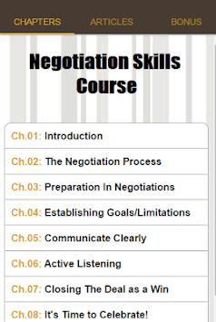 Negotiation Skills Course pc screenshot 2