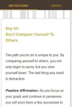 30 Days Of Motivation - Daily Affirmations pc screenshot 1