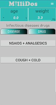 Millidos - Pediatric Drug Dosages pc screenshot 2