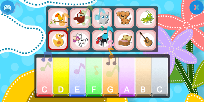 Kids Piano: Animal Sounds for PC Windows or MAC for Free