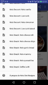 keto diet recipes -30 Days Plan pc screenshot 1