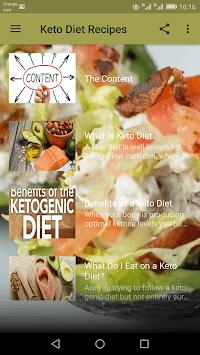 Keto Diet Recipes pc screenshot 1