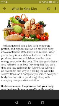 Keto Diet Recipes pc screenshot 2