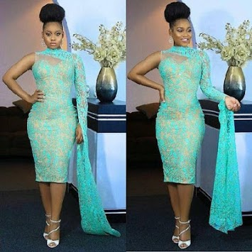 9ja Lace Short Gown Styles. pc screenshot 2