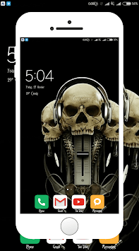Skull Wallpaper pc screenshot 1