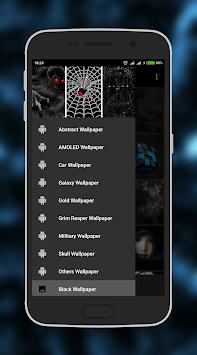 Black Wallpaper pc screenshot 2