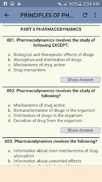 Pharmacology MCQs pc screenshot 2
