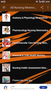 All Nursing Mnemonics & Tips. pc screenshot 1