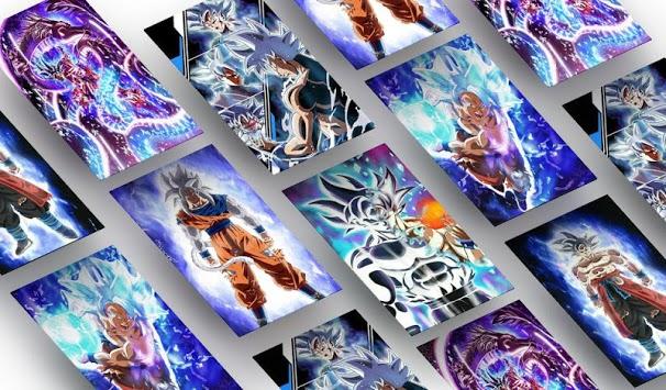 Ultra Instinct Art Wallpaper pc screenshot 1
