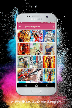 Goku art wallpaper HD pc screenshot 1
