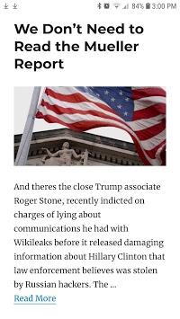 Mueller Report News & Analysis pc screenshot 1