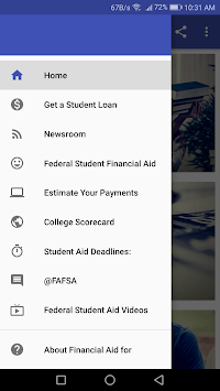Financial Aid for Students pc screenshot 1
