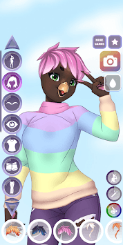 Furry Dress Up pc screenshot 1
