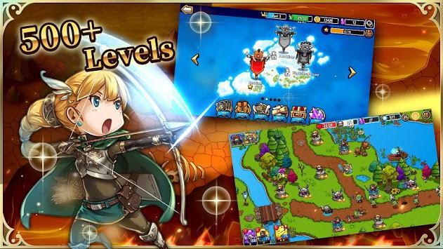 Crazy Defense Heroes: Tower Defense Strategy TD pc screenshot 1