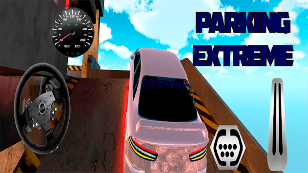 Prado Parking Electric Car Simulator pc screenshot 1