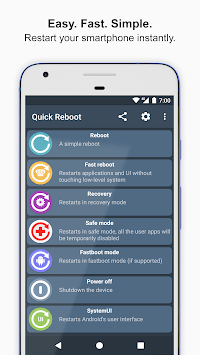 🚀 Quick Reboot - #1 phone & tablet reboot manager pc screenshot 1