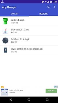 App Manager pc screenshot 1