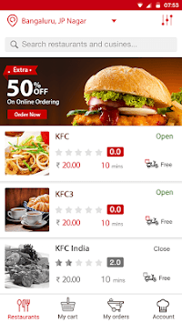 Chefflavours: Express Food Delivery pc screenshot 1