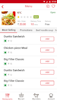 Chefflavours: Express Food Delivery pc screenshot 2
