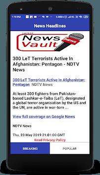 eNewsVault pc screenshot 1
