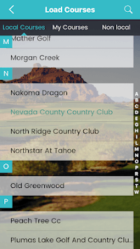 GoGolf GPS pc screenshot 1