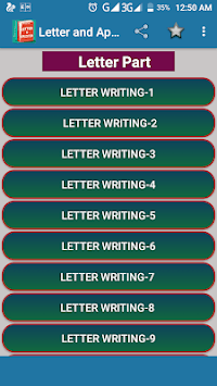 Letter & Application Writing pc screenshot 1