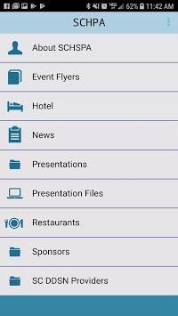 SCHSPA Conference App pc screenshot 2