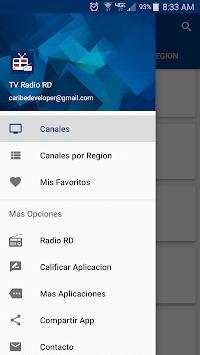 TV Radio RD - Television and Radio Dominican pc screenshot 2