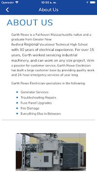 Garth Rowe Electrician pc screenshot 1