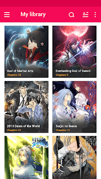 Manga Eden Reader - Best Manga Reader pc screenshot 1