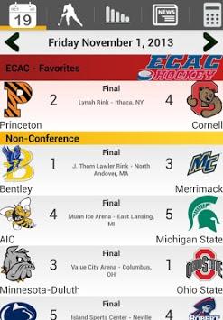 College Hockey News pc screenshot 1