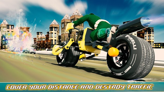 Bike Shooter Superhero: Moto Blitz Racing Shooter pc screenshot 2