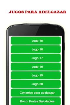 Jugos Para Bajar de Peso Rápido pc screenshot 2