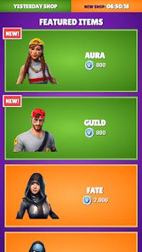 Daily Item Shop - Battle Royale Shop 2019 pc screenshot 1