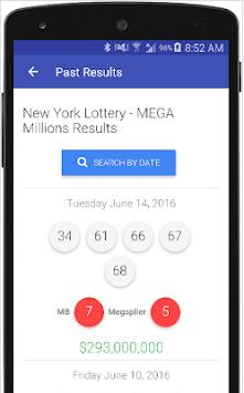 Lottery Results NY pc screenshot 1