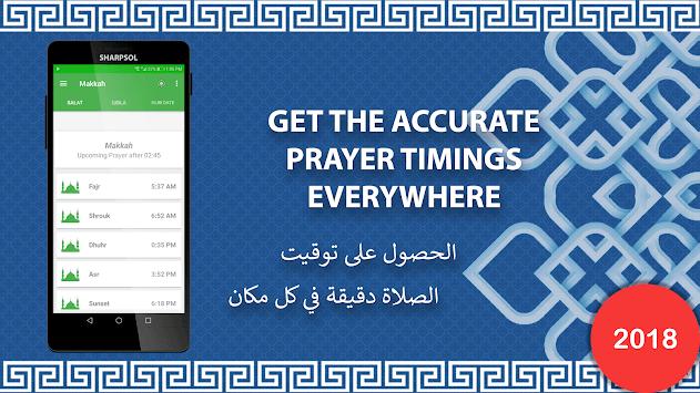 Qibla Compass- Salat & Hijri Calendar pc screenshot 1