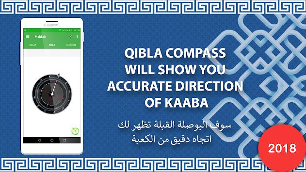 Qibla Compass- Salat & Hijri Calendar pc screenshot 2
