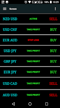 Forex Signals-Live Buy/sell pc screenshot 1
