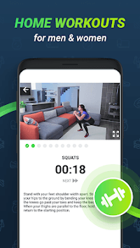 GetFit: Workout exercises & home fitness planner pc screenshot 1