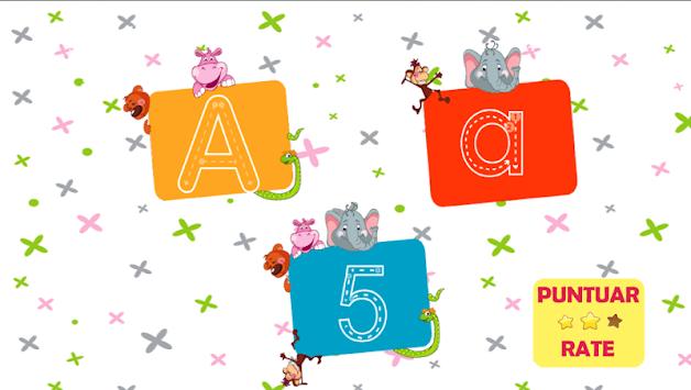 Writing the alphabet pc screenshot 1