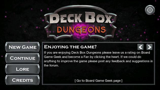 Deck Box Dungeons pc screenshot 1