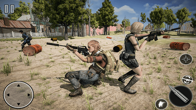 Free Fire Squad: Battleground Survival Game pc screenshot 2