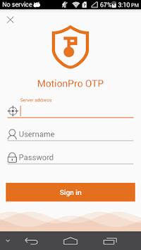 MotionProOTP pc screenshot 1