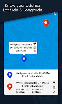 Latitude Longitude Finder pc screenshot 1