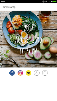 Timestamp Camera - Stamp Time and Date on Photos pc screenshot 1