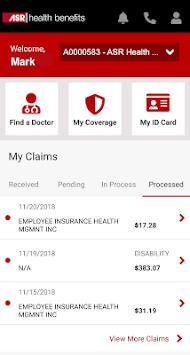 My ASR Benefits pc screenshot 2