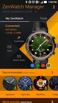 ZenWatch Manager pc screenshot 1
